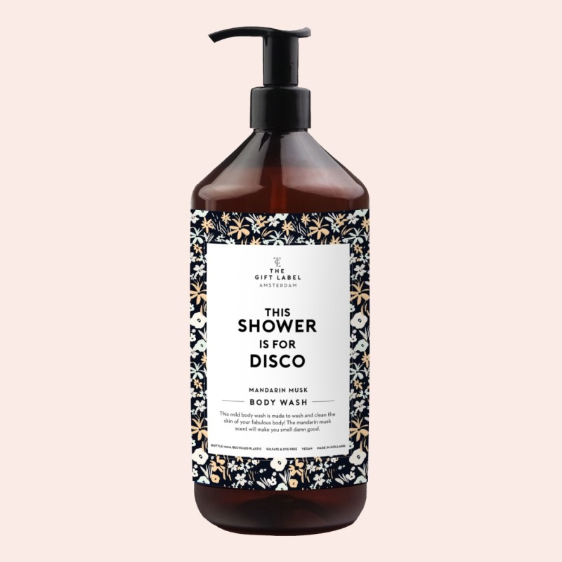 The Gift Label - Duschcreme This Shower Is For Disco