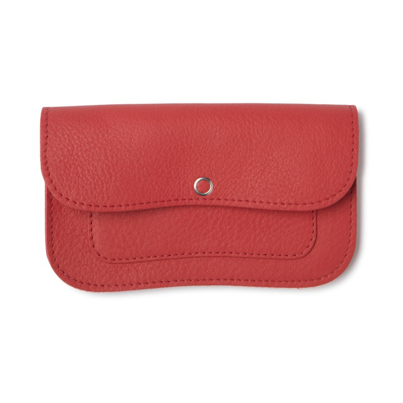 Keecie - Wallet Cat Chase Medium Coral