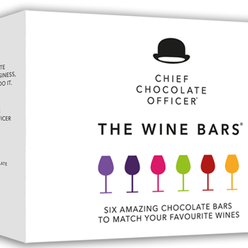 Chief Chocolate Officer - The wine Bars mixbox choklad till vin