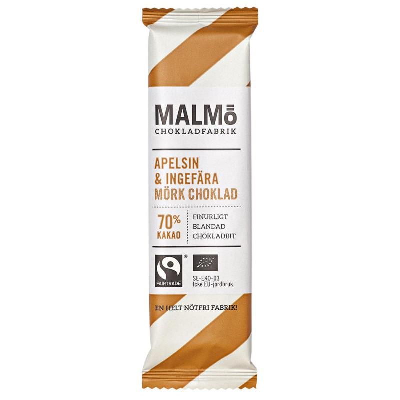 Malmö Choklad - Apelsin & Ingefära