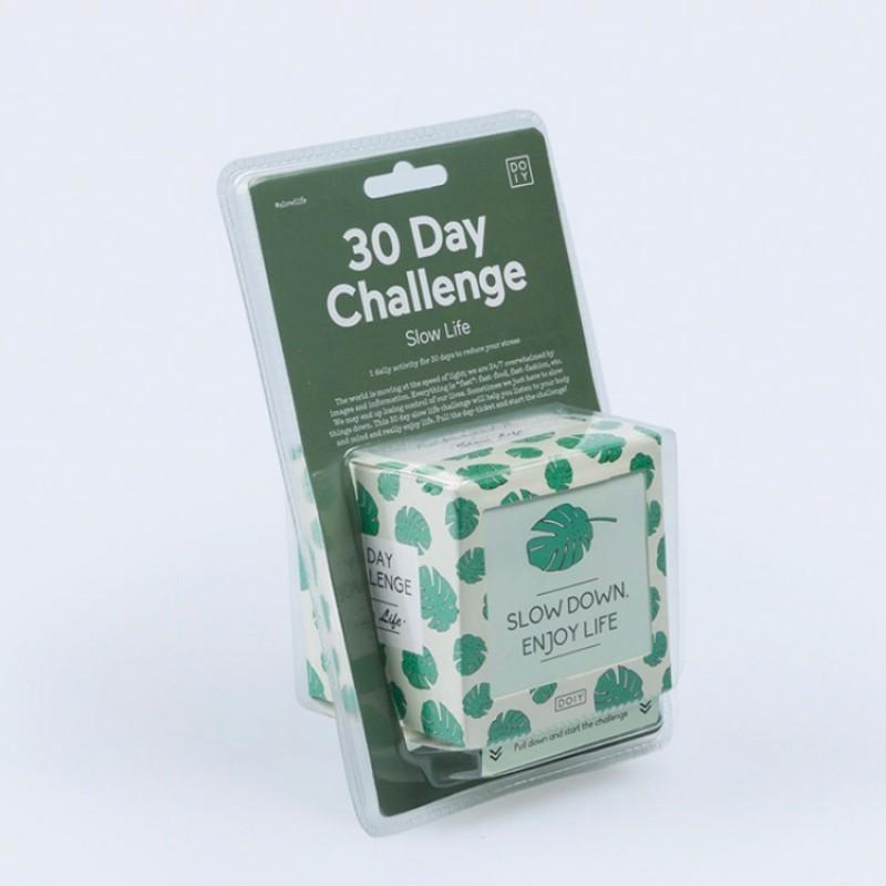Challenge - 30 days slowlife