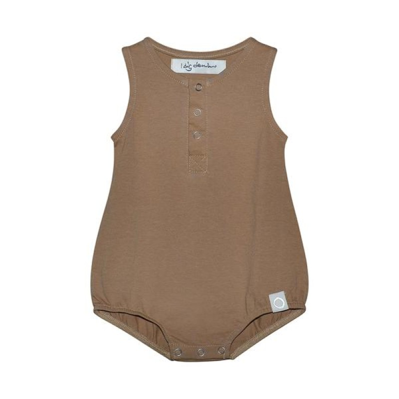 I Dig Denim - Jones romper organic brown