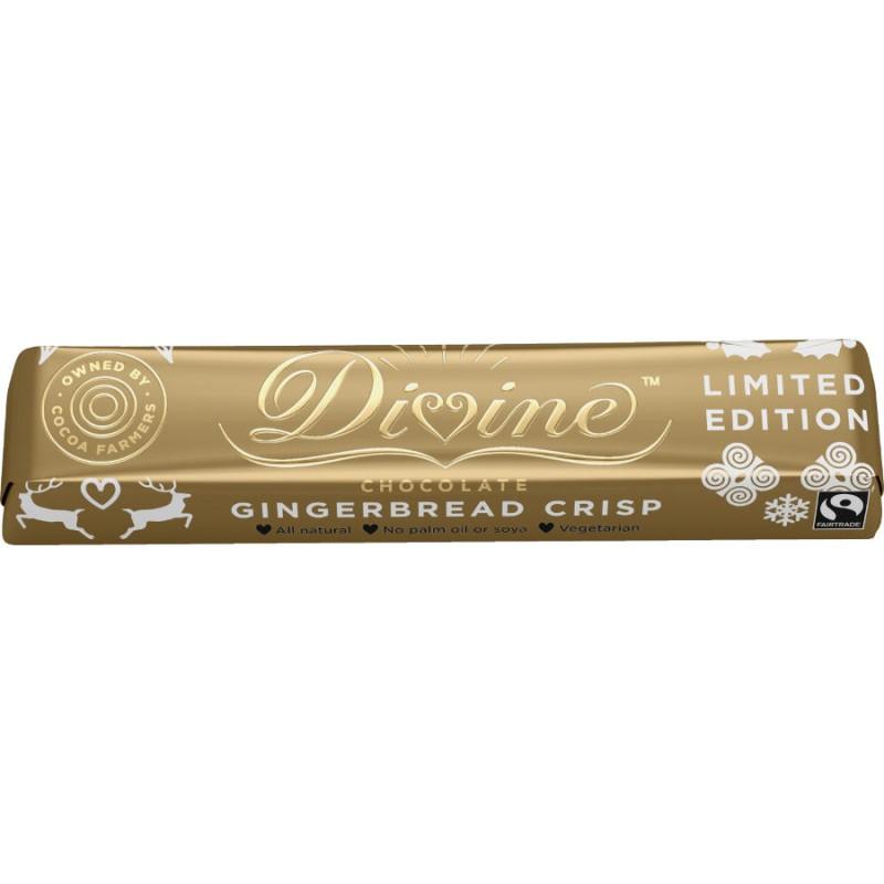 Divine - Kanel/pepparkaks krisp Chokladkaka 35 g