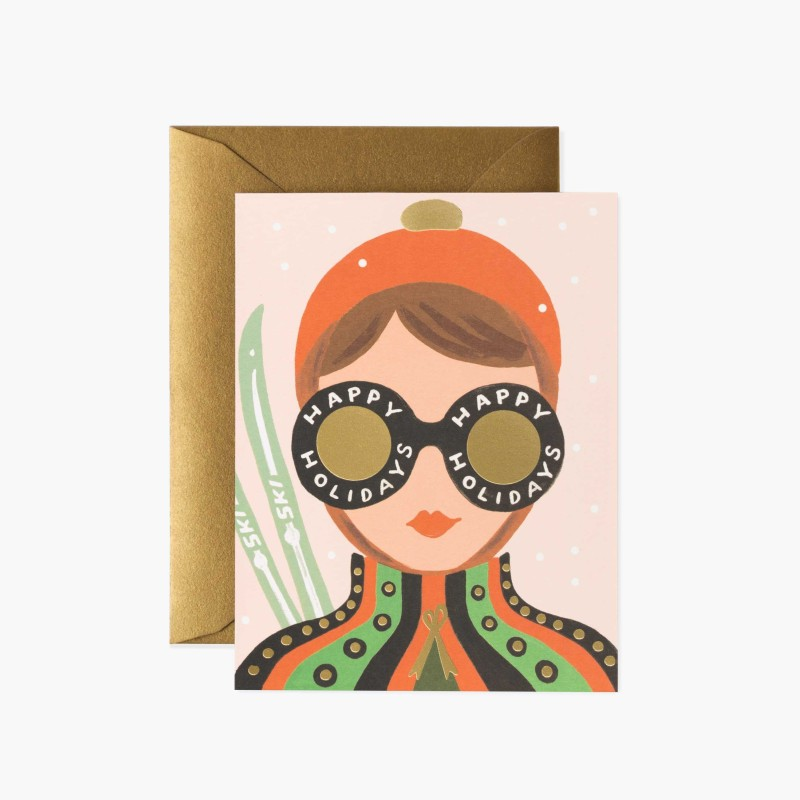 Rifle paper co - Ski girl REA 30%