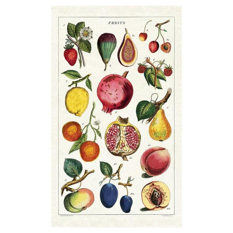 Cavallini Papers - Kökshandduk Frukt