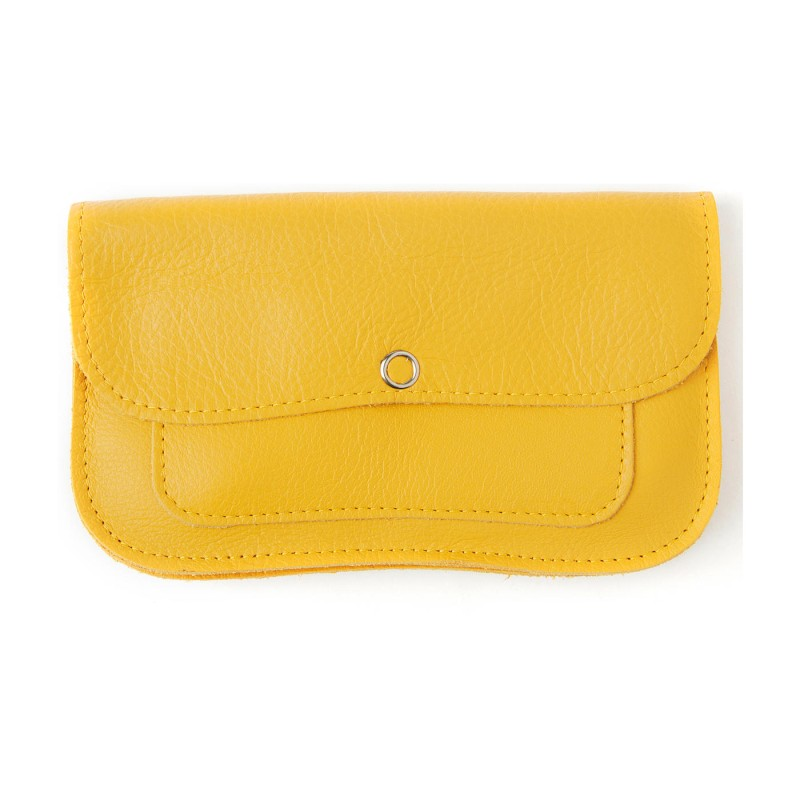 Keecie - Wallet Cat Chase Medium Yellow