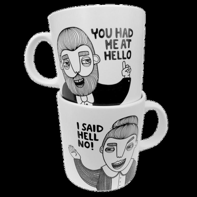 BahKadisch - Mugg Hell no!