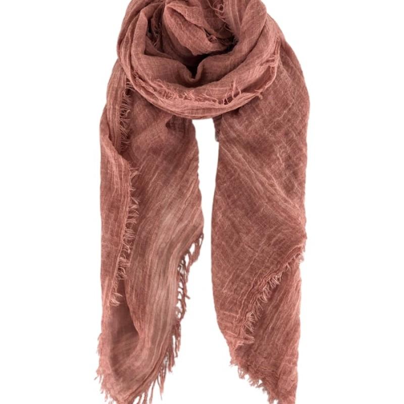 Black Colour - TAYA basic scarf rose