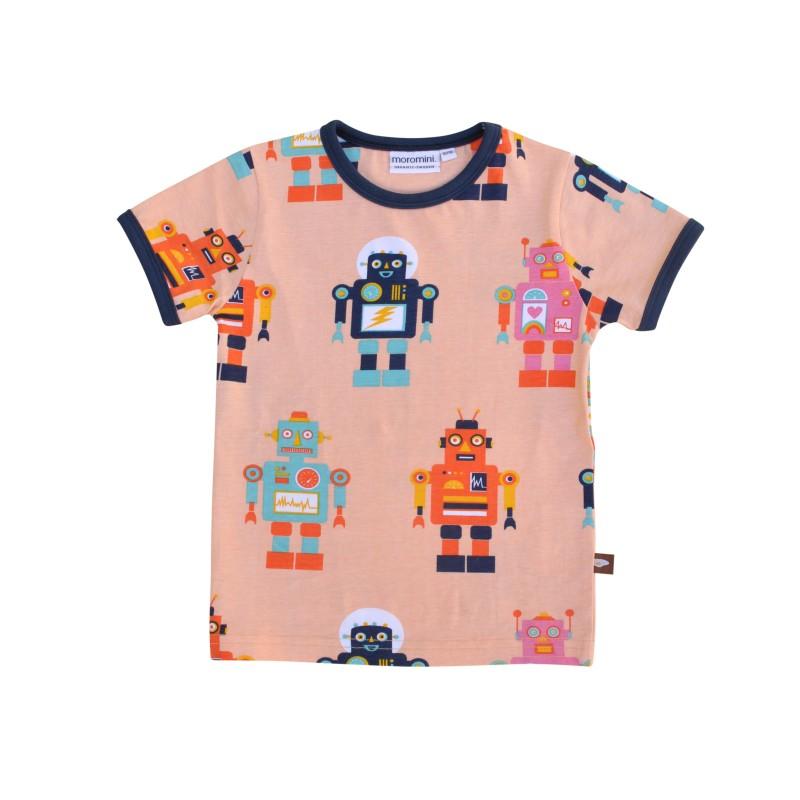 Moromini - Friendly Robot T-shirt 50% REA