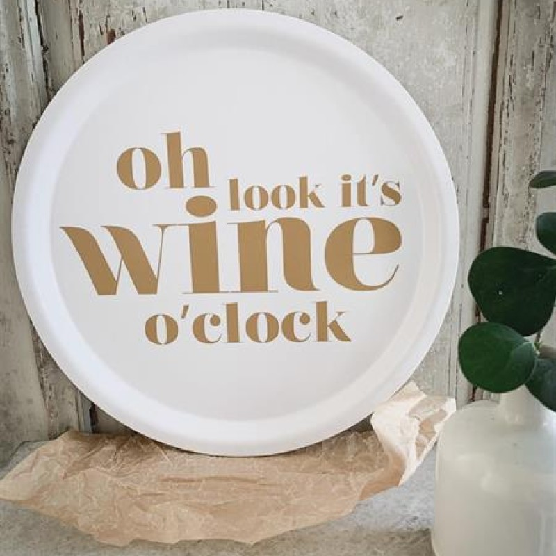 "Mellow Design - ""Oh look it's wine o'clock"""