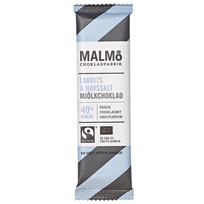 Malmö Choklad - Lakrits & Havssalt