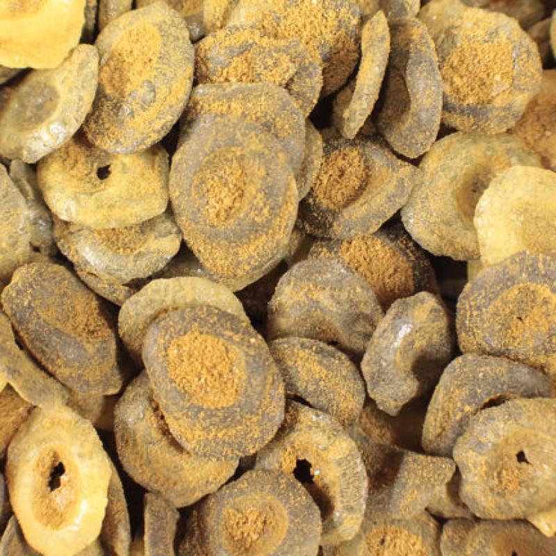 Nammi - Salmiak/Mangoknappar 100 g