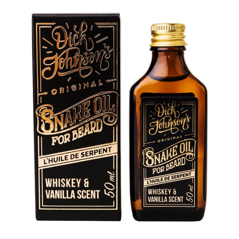 Dick Johnson - Skäggolja Snake Oil Whiskey & Vanilla