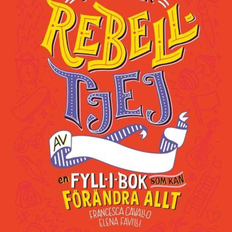 Bok - Jag är en rebelltjej fyll-i-bok