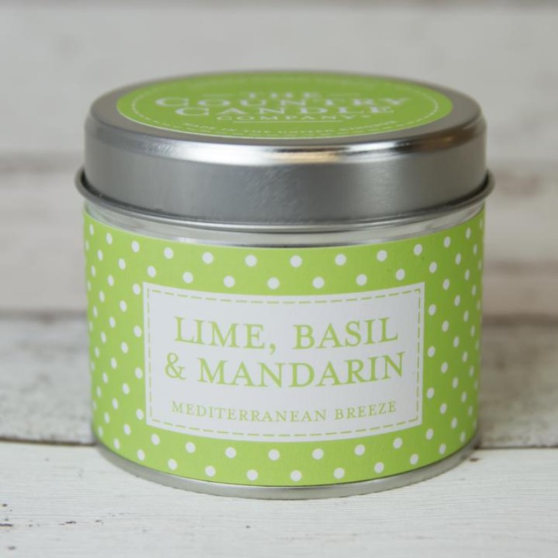 The Country Candle Company - Lime, Basil & Mandarin
