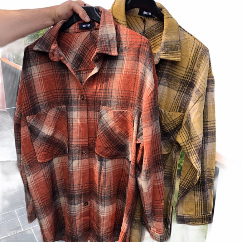 DRYS - Rutig skjorta