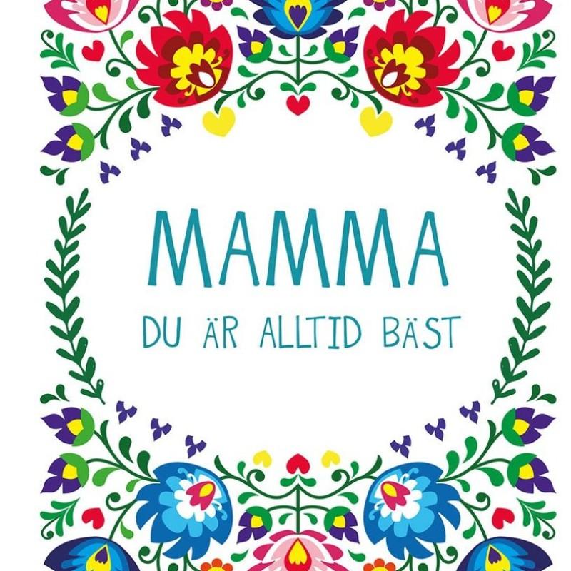 Bok - Mamma du är alltid bäst