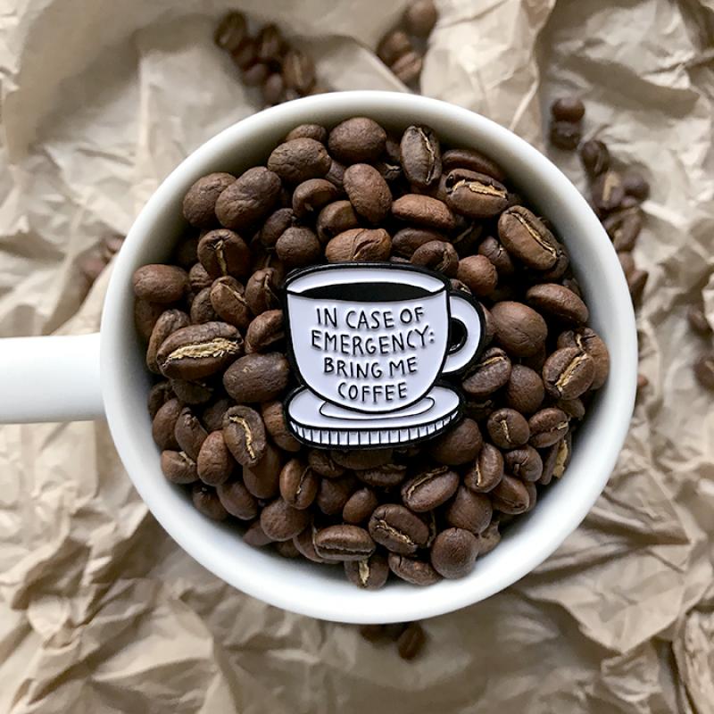 Bahkadisch - Pin - Bring me coffee