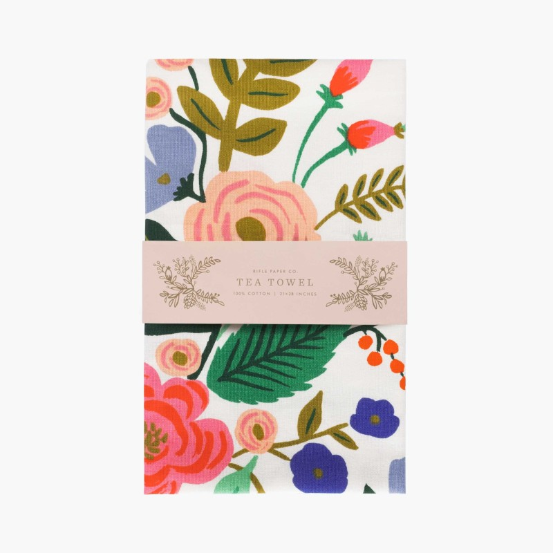 Rifle Paper Co - Floral Vines Tea Towel