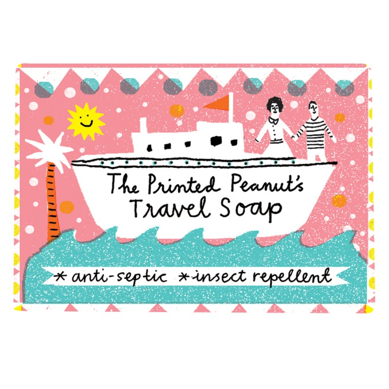 The Printed Peanut - Tvål - Resa