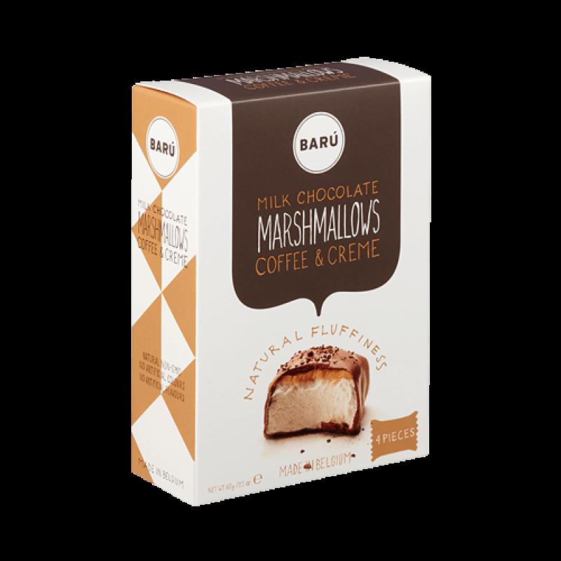 Barú - Marshmallow med kaffekräm
