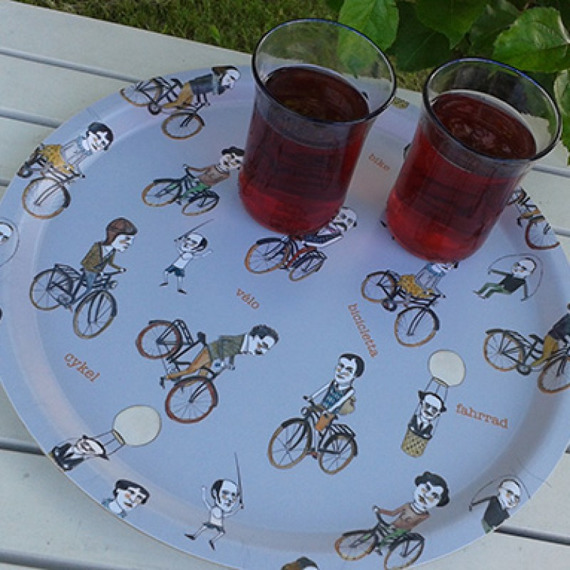 Anna Helldorf - Bricka Cykel