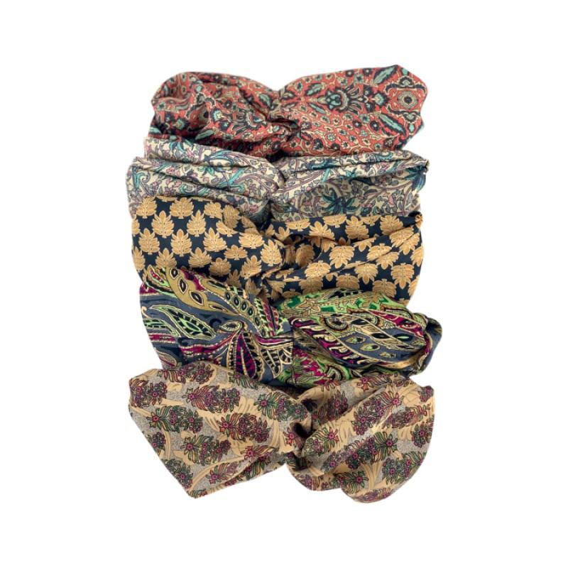 Black Colour - LUNA headbands