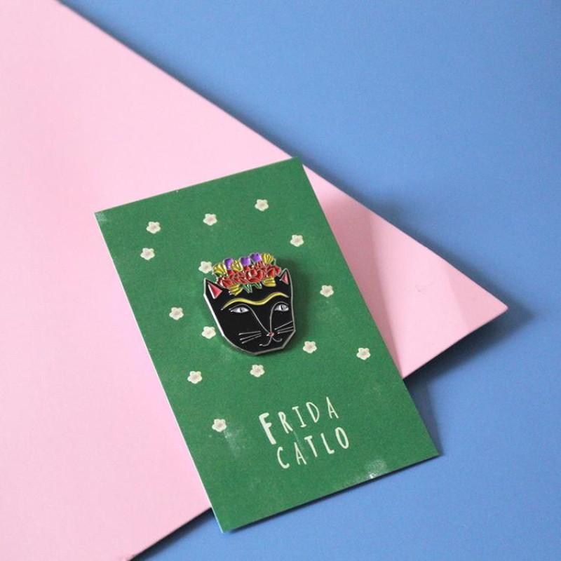 Niaski - Frida Catlo Pin