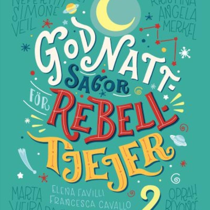 Bok - Godnattsagor för rebelltjejer 2