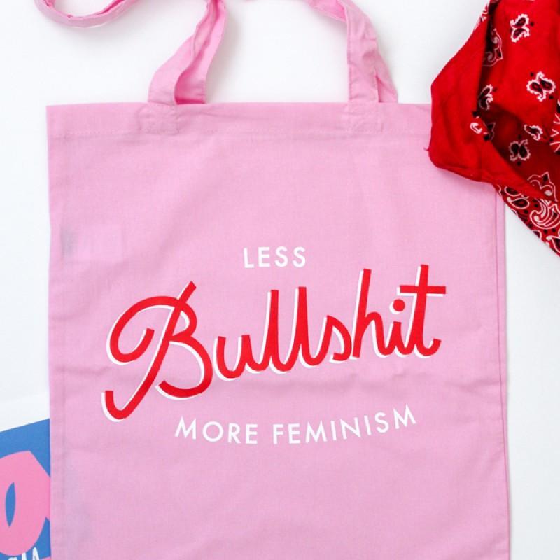 Tygkasse - Less Bullshit More Feminism