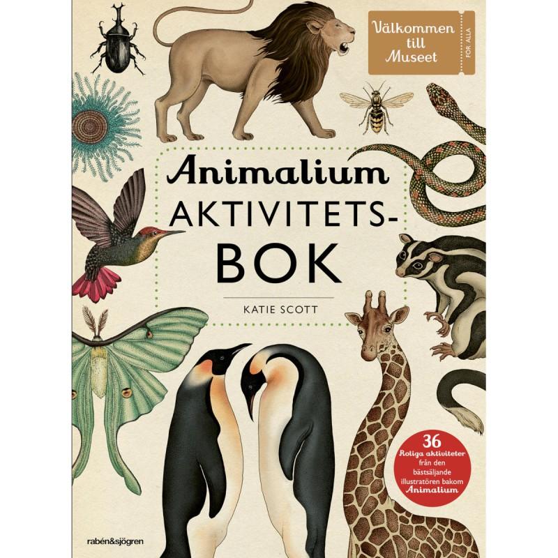 Bok - Animalium aktivitetsbok