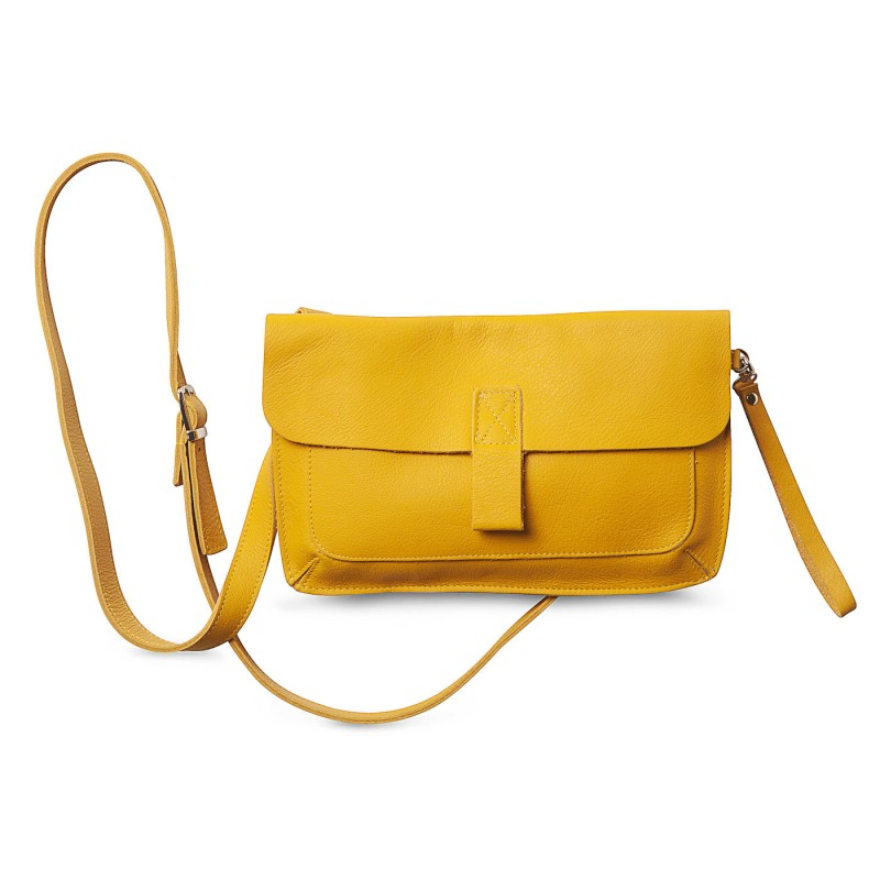 Keecie - Bag/Clutch Monkey Tree Yellow
