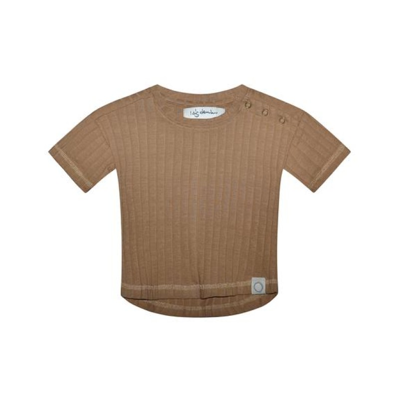 I Dig Denim - Bowie Tee Organic Brown