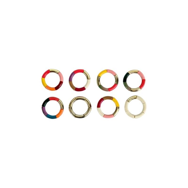 Black Colour - DINA tube bracelet