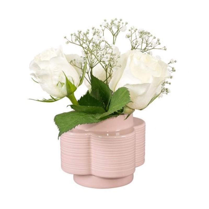 Orla Kiely - Vas Spot Flower Rose