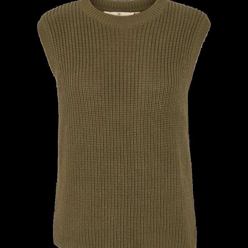 Basic Apparel - Sweety Vest Organic Army