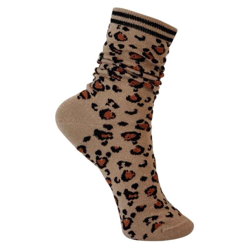 Black Colour - Leo socks natural