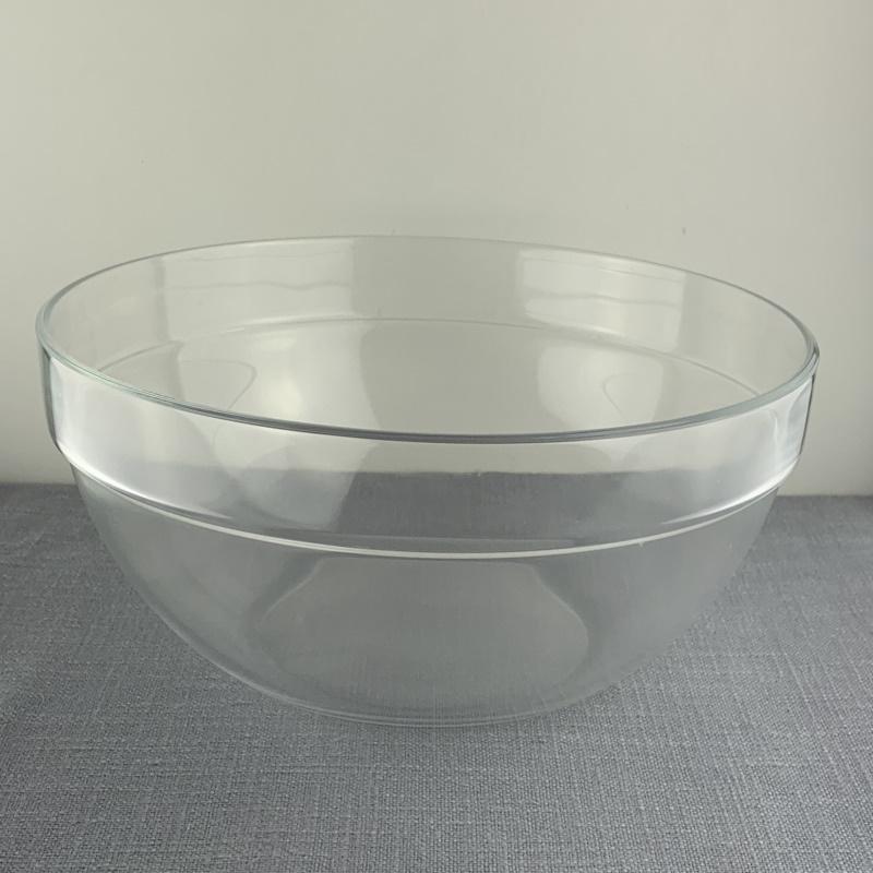 Skål, stor i glas