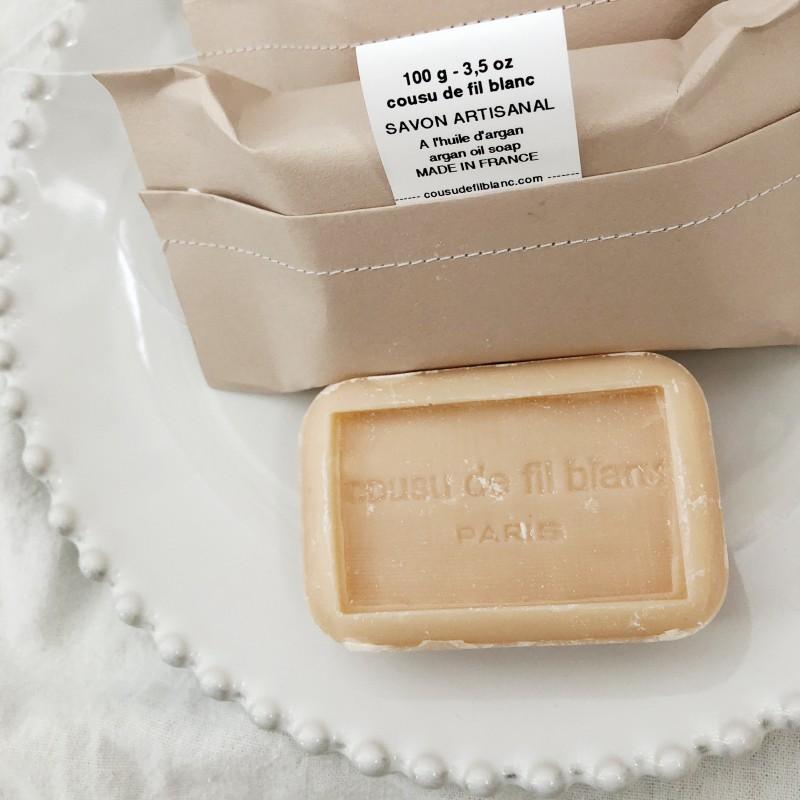 Cousu De Fil Blanc / Argan sæbe