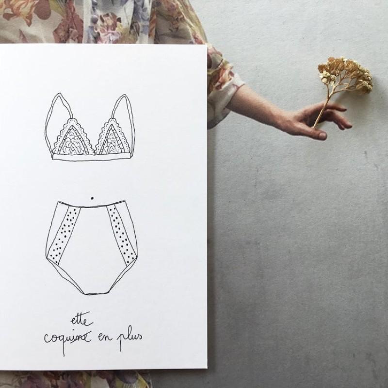Papillonnage / Coquette Kort