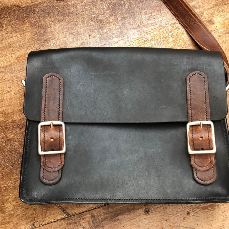 Satchel - large two tone