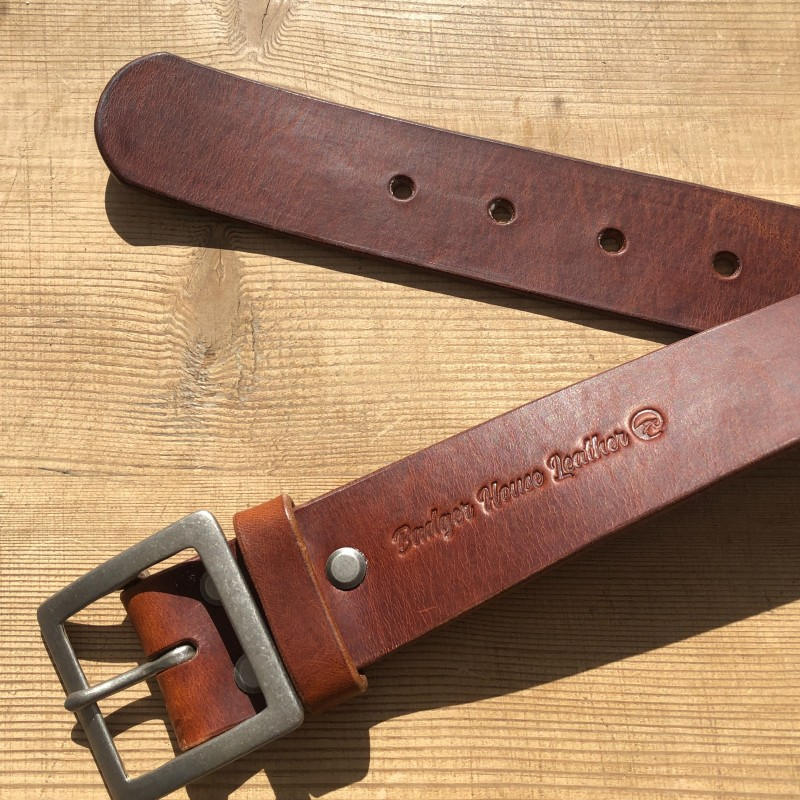 Belt - the Badger House Leather signature belt