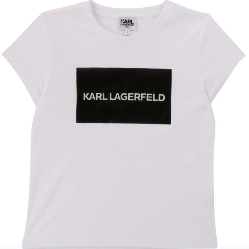 Karl Lagerfield Pige T-shirt