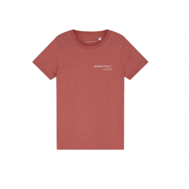 Designers Remix T-Shirt - Stanley Dusty Red
