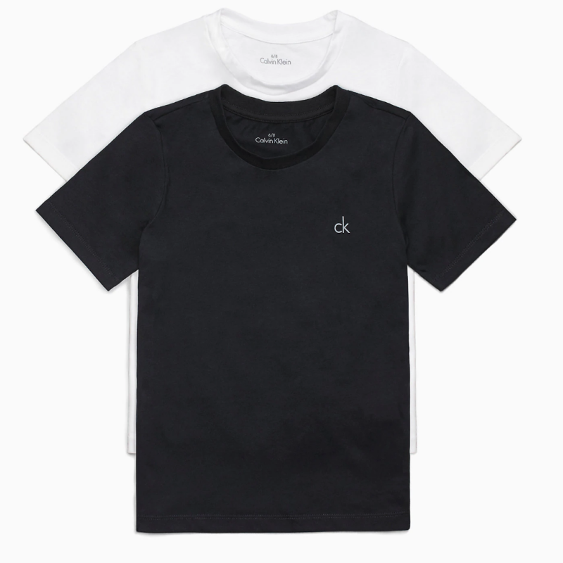 Calvin Klein 2 Pack Boys Lounge T-shirt