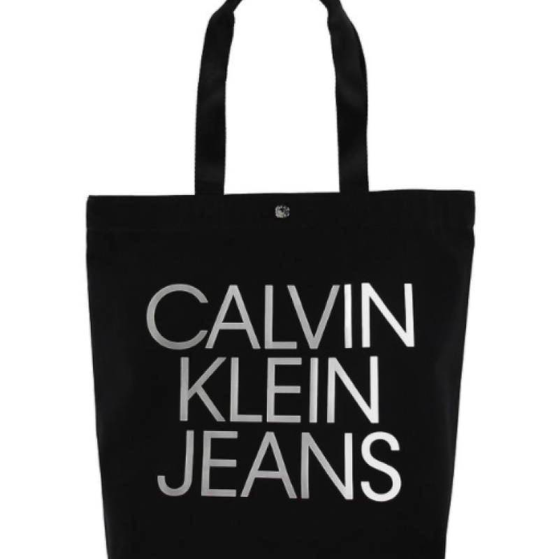 Calvin Klein Canvas taske m. logo