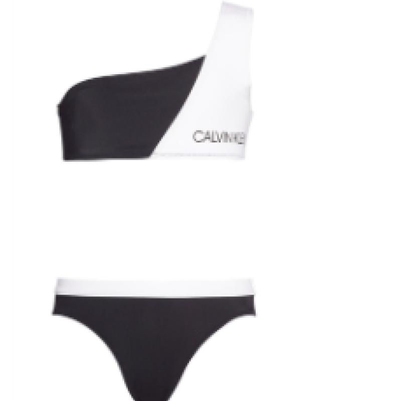 Calvin Klein Bikinin Sort/Hvid