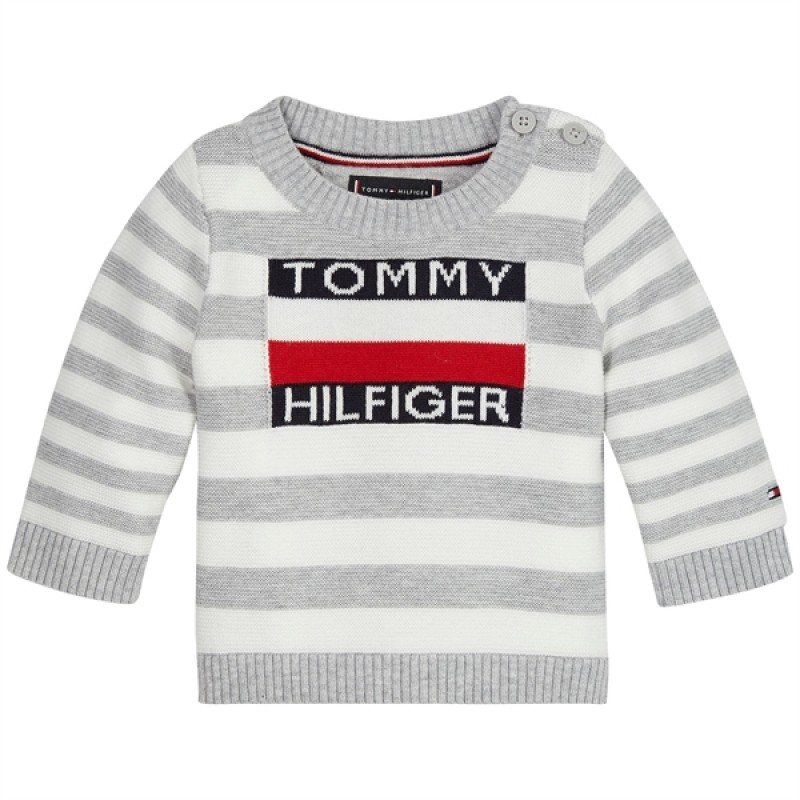 Tommy Hilfiger sweater m. logo