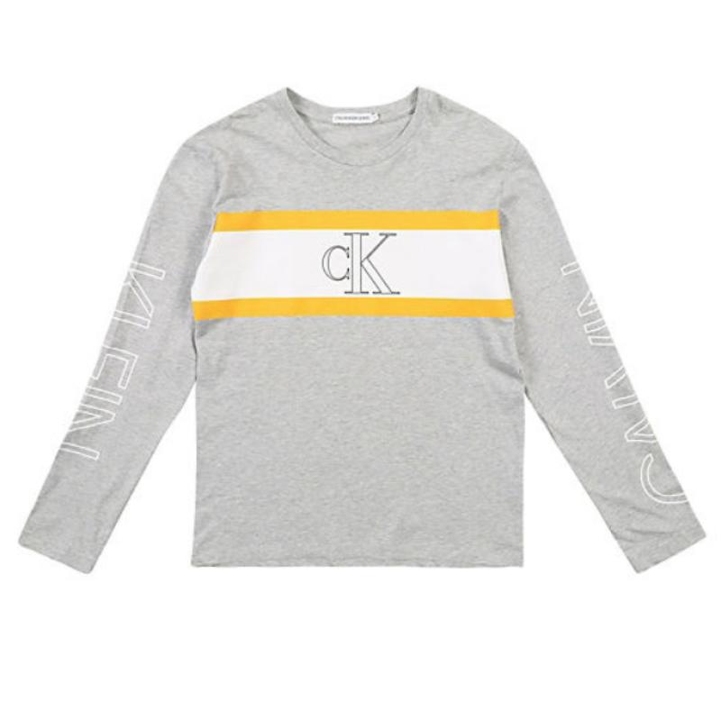 Calvin Klein Langærmet Logo T-shirt