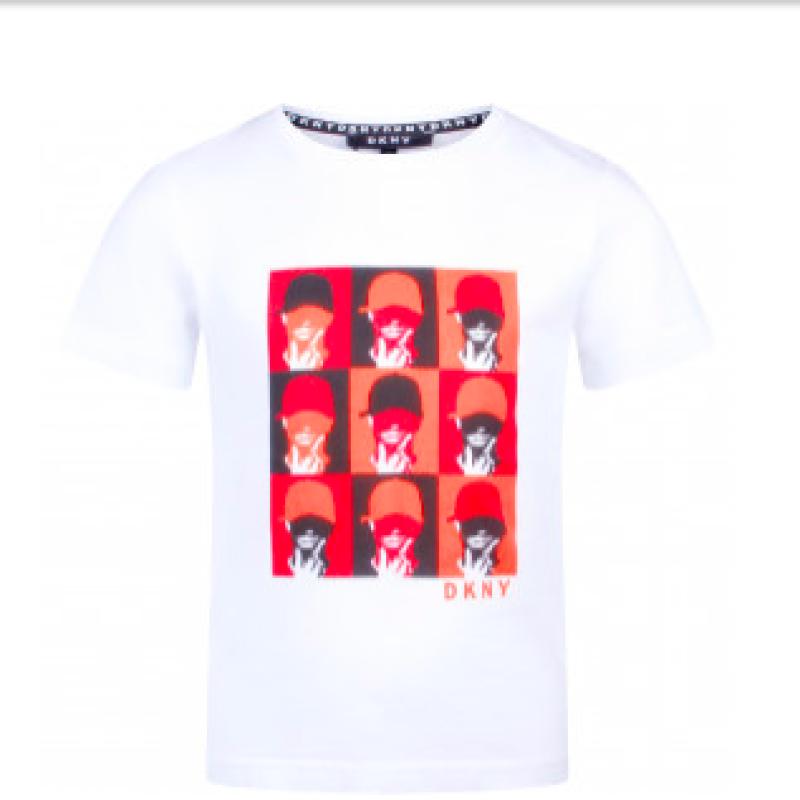 DKNY Boys Face T-shirts